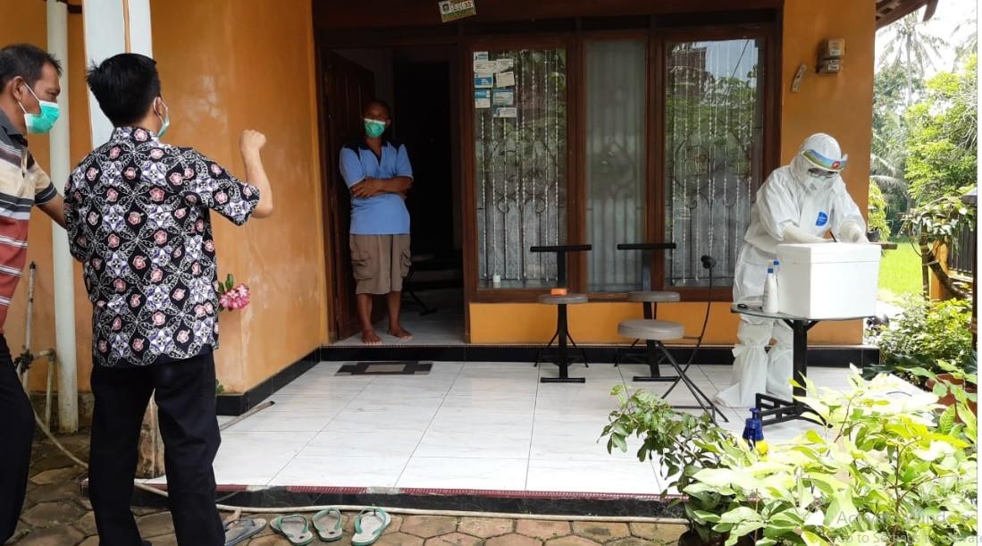 Tes Swab Antigen Kelurahan Kledung Kradenan