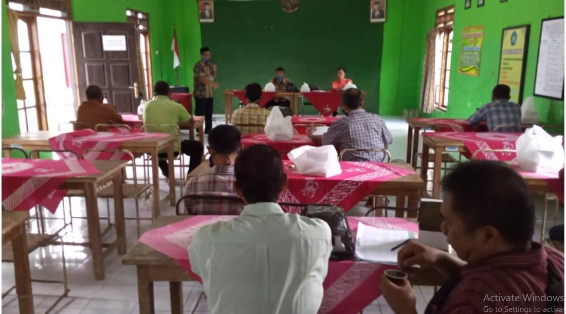 Rapat dan Pembinaan Gapoktan Kelurahan Borokulon