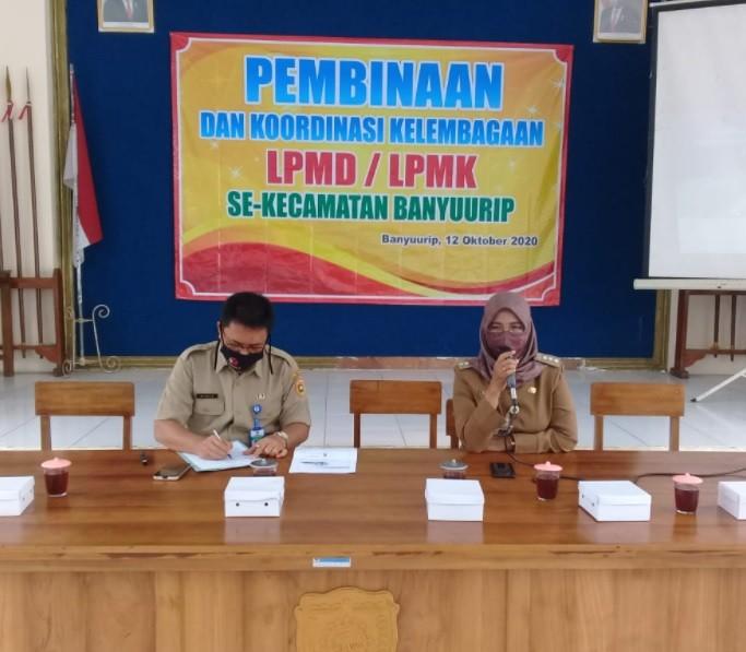 Pembinaan LPMD dan LPMK se Kecamatan Banyuurip