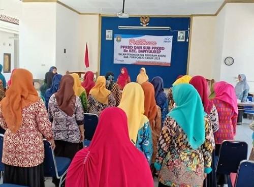 Halal Bihalal PPKBD dan Sub PPKBD Kecamatan Banyuurip